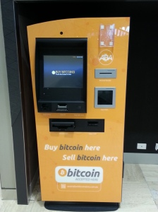 Distributeur à bitcoins!