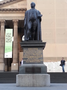 Statue de Sir Redmond Barry