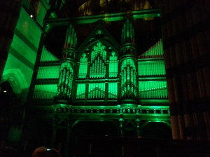 Orgue de St-Paul la nuit